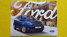 Ford Ka+ Studio & Zetec car brochure sales car catalogue June 2016 MINT Ka +