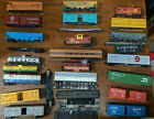 HO Mixed ROLLING STOCK Tank Box Hopper Cars LOT OF 29, VINTAGE JUNKYARD / REPAIR
