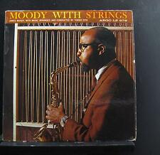 James Moody - Moddy With Strings LP VG U-10688 Mono Argo 1961 Vinyl Record