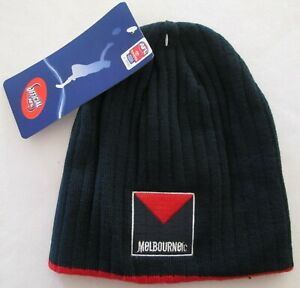 AFL Melbourne Demons FC Beanie Official Supporter Licensed Adult Footy Football
