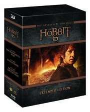 Extended Box DER HOBBIT TRILOGY Part 1 2 3 complete 15 BLU-RAY Box Edition New