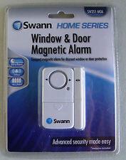 NEW SWANN SW351-MDA Complete, Stand-Alone Window & Door Magnetic Alarm