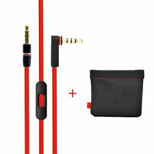Replacement Beats Audio Cable+Inline Remote,Beats RemoteTalk Cable for Solo & ..