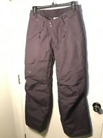 The North Face Women's DryVent Insulated Ski Snowboard Pants Size Small S Purple