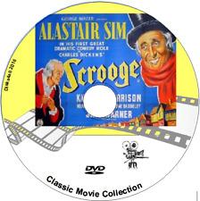 A Christmas Carol Scrooge Alastair Sim Fantasy Drama Film 1951 DVD