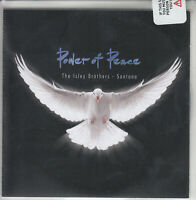 THE ISLEY BROTHERS & SANTANA Power Of Peace 2017 UK 13-trk #d promo CD sealed