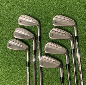 2019 TaylorMade P790 Irons - 5-PW & AW  - 7 irons