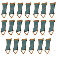 20 Pack of E Track Rope Tie Offs For Cargo Trailers, Enclosed Vans