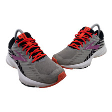 Brooks Launch 6 Womens Size 8.5 Grey Black 1202851B027 Running Shoes Lace Up