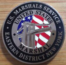 US Marshals Service - EDofNY Brooklyn Bridge SecondGEN 1.75in challenge coin
