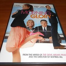 Morning Glory (DVD, Widescreen 2011) Rachel McAdams, Harrison Ford Used