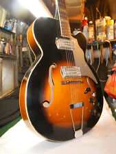 VINTAGE Old Kraftsman Huge Jumbo ES-175 Single Round Cut Jazz Archtop 2-Kleenex