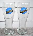 2 New Blue Moon Brewing Co Logo Beer Pilsner Pint Glasses 14 OZ