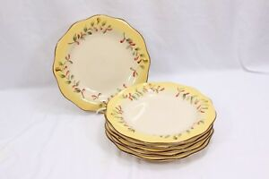 "Better Homes Tuscan Retreat Dinner Plates 11.25"" Set of 6"