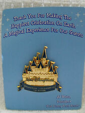 2005 Disney Wdw Cast Trading Pin Happiest Celebration On Earth Mk Castle Noc
