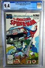 Amazing Spider-Man Annual #23 Marvel 1989 CGC 9.4 NM White Pages Comic W0019