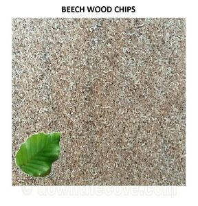 Quality Beech Wood Chips for Smoking Ovens, Smoker Dust - All Sizes - FAST POST
