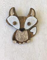Unique  Fox Brooch Pin In acrylic