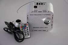 27 watt LED R.G.B. Twinkle Light Source with wireless remote