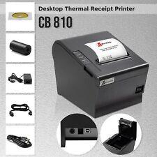 Thermal Receipt Printer Desktop Kitchen Retail Pos System Auto Cuter Usb Connect
