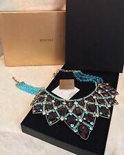 HEIDI DAUS Blue Bead MANY SHADES OF FABULOUS Swarovski Crystal Necklace