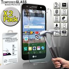 2 Pack Tempered Glass Screen Protector Cover For LG Fiesta LTE