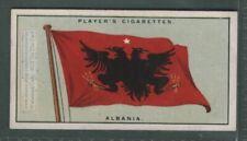 Flag of Albania 1920s Ad Trade Card