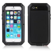 Heavy Duty Armor Shockproof Tough Metal Anti Shock Proof Case For iPhone 5 6S 7