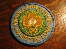 Girl Scout Jacket Patch - Vintage World Friendship Juliette Low Travel Fund
