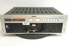 Revox Studer B215 Mkii Cassette Tape Deck w/ Rack Mount Ears Rare Version