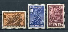 Bulgarien 593/95 postfrisch / Kampf dem Faschismus .......................1/3786