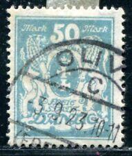 DANZIG 1923 139 gestempelt geprüft INFLA BPP 200€(J8637