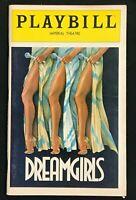PLAYBILL Dec 1981 (Opening Night) - DREAMGIRLS - Loretta Divine / C. Derricks b4