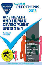 Cambridge Checkpoints VCE Health & Human Development Units 3 & 4 2016