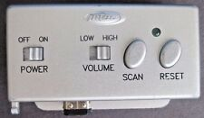 Game Boy Advance Silver Radio Receiver by Intec plays in SP System *Tested*