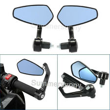 Motorcycle End Bars Rearview Handle Bar Side View Mirrors Motorcycle Accessories