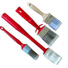 ROTIX Ringpinsel Heizkörperpinsel Flächenstreicher Flachpinsel für Lasurfarben