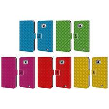Custodie portafoglio bianca con un motivo, stampa per cellulari e palmari