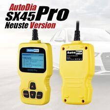 AutoDia SX45 Pro+ Für VAG VW Audi Seat Skoda ABS AIRBAG SERVICE + EOBD Diagnose