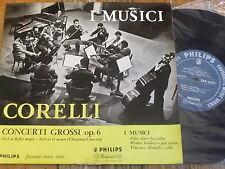 "SBR 6207 Corelli Concerti Grossi Op. 6 / I Musici Minigroove 10"" LP"