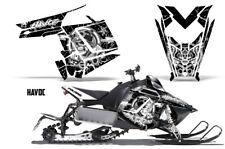 Sled Decal Wrap Polaris Pro RMK Rush Snowmobile Graphics Kit 2011-2014 HAVOC WHT