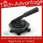 Brand New Backup Boat Manual Fixed-handle Bilge Pump photo