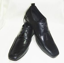 ENGLISH LAUNDRY MEN SHOES SIZE 11.D OXFORD  BLACK LEATHER UPPER  NEW WITH B