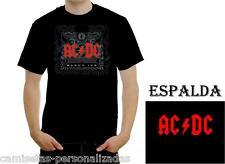 CAMISETA ACDC AC/DC BLACK ICE T-SHIRT ROCK HEAVY METAL