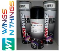 AEROSOL PAINT PRIMER VW Spray Paint SCHWARTZ BLACK L041 REPAIR KIT