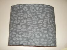 Pottery Barn Teen Goodnight Cheetah Duvet Cover Twin Black,Gray #381
