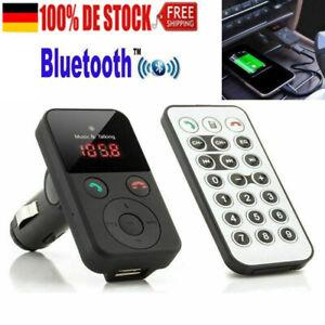 Bluetooth Freisprecheinrichtung Car Audio Player FM Transmitter Autoladegerät