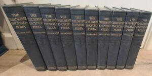The Children's Encyclopedia- Arthur Mee 1920s 10 Volume Set