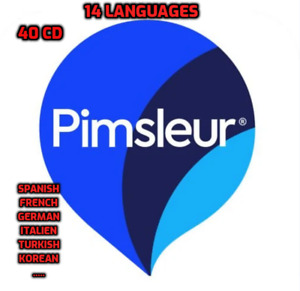 Pimsleur Learn to Speak  All 14  Languages 40 CD - SPANISH FRENCH GERMAN ITALIAN