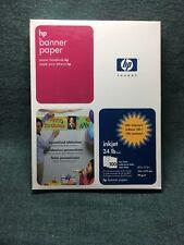 Banner Paper - HP Inkjet - 24lb - 100 sheets - NEW!